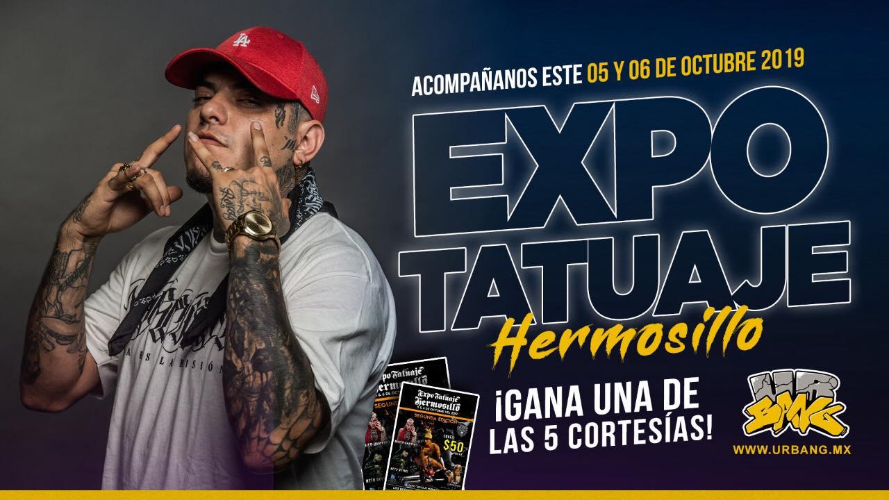 Expo Tatuaje Hermosillo: Gana una de las 5 Cortesías