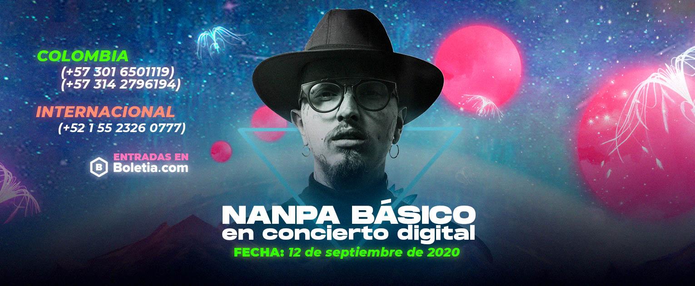 Nanpa Básico anuncia su primer concierto digital